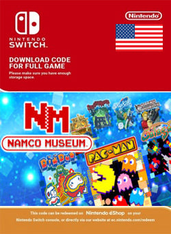 Namco Museum Nintendo Switch - Chilecodigos