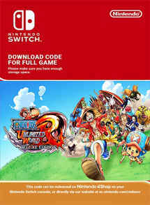 ONE PIECE Unlimited World Red Deluxe Edition Nintendo Switch - Chilecodigos