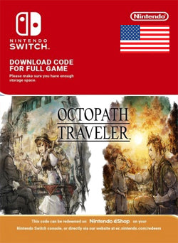 Octopath Traveler Nintendo Switch - Chilecodigos