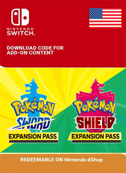 Pokemon Sword o Pokemon Shield Expansion Pass Nintendo Switch - Chilecodigos