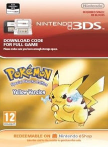Pokemon Yellow Version, JUEGOS, NINTENDO - Chilecodigos