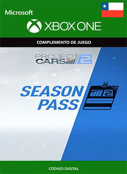 Project CARS 2 Season Pass Xbox One, DLC, XBOX - Chilecodigos