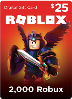 Roblox 2000 Robux Gift Card Global