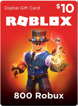 Roblox 800 Robux Gift Card Global - Chilecodigos