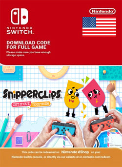 Snipperclips Cut it out together Nintendo Switch, JUEGOS, NINTENDO - Chilecodigos