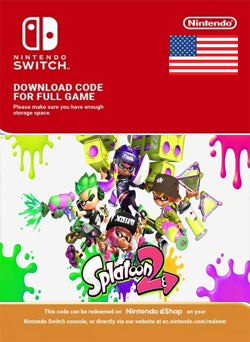 Splatoon 2 Nintendo Switch - Chilecodigos