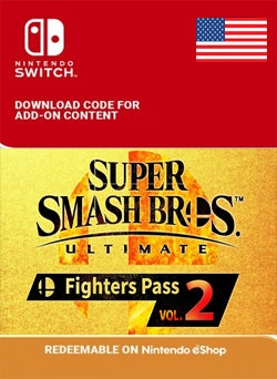 Super Smash Bros Ultimate Fighters Pass Vol 2 Nintendo Switch - Chilecodigos