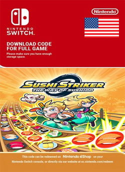 Sushi Striker The Way of Sushido Nintendo Switch, JUEGOS, NINTENDO - Chilecodigos