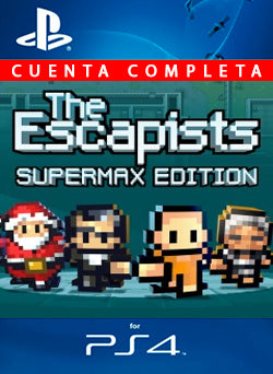 The Escapists Supermax Edition PS4 - Chilecodigos