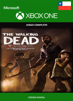 The Walking Dead The Complete First season Xbox One - Chilecodigos