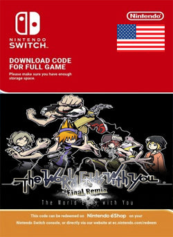 The World Ends with You Final Remix Nintendo Switch, JUEGOS, NINTENDO - Chilecodigos