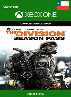 Tom Clancys The Division Season Pass Xbox One, DLC, XBOX - Chilecodigos