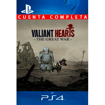 Valiant Hearts The Great War PS4 - Chilecodigos