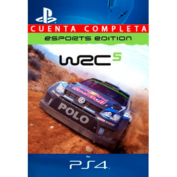 WRC 5 eSports Edition PS4 - Chilecodigos