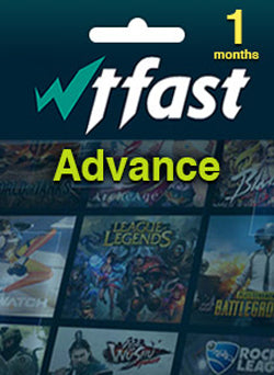 WTFAST Advanced Membresia 1 Mes Global Gift Card