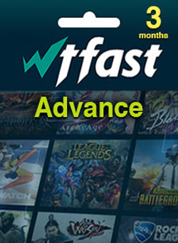 WTFAST Advanced Membresia 3 Meses Global Gift Card