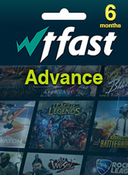 WTFAST Advanced Membresia 6 Meses Global Gift Card