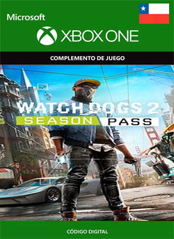 Watch Dogs 2 Season Pass Xbox One, DLC, XBOX - Chilecodigos