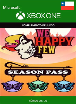We Happy Few Season Pass Xbox One, DLC, XBOX - Chilecodigos
