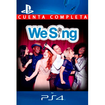 We Sing PS4 - Chilecodigos