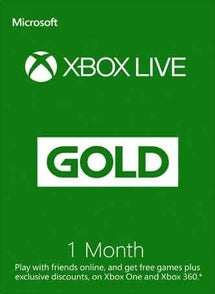 1 Mes Membresia Xbox Live Gold Gift Card GLOBAL - Chilecodigos