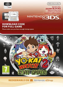 Yo Kai Watch 2 Bony SpiritS Nintendo 3DS - Chilecodigos