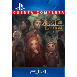 Zero Escape Zero Time Dilemma PS4