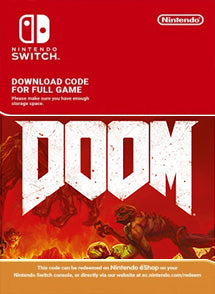 Doom Nintendo Switch - Chilecodigos