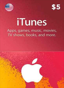 $5 USD Itunes Gift Card USA, GIFTCARDS, ITUNES - Chilecodigos