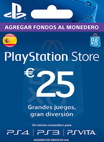 $25 EUR PlayStation Gift Card PSN ESPAÑA - Chilecodigos