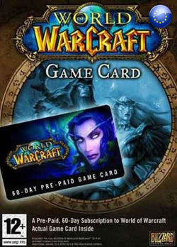 60 Dias Membresia World of Warcraft Gift Card EUROPA - Chilecodigos