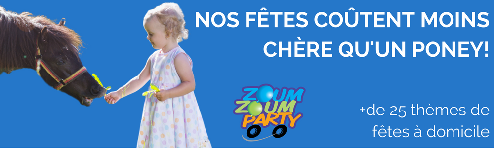 Animation de fêtes d'enfants Zoum Zoum Party