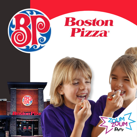 Fête Party de Filles Chez Boston Pizza