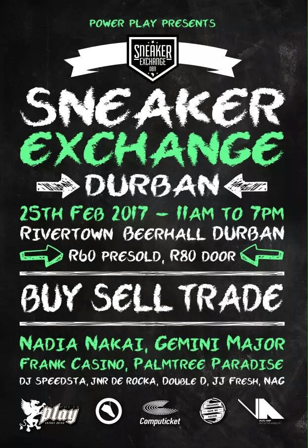 SneakerExchange Durban 25 Feb
