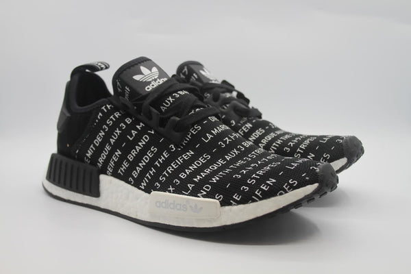 "adidas NMD ""3 Stripes Blackout"""