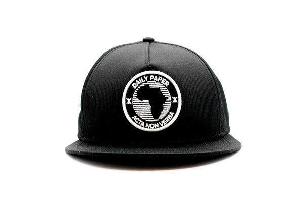 African Shield Cap Black
