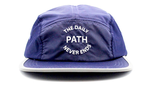 Path Never Ends Cap Blue
