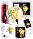 2021 Chinese New Year the OX Chinese Oriental Zodiac 6 pc. COMBO GIFT SET