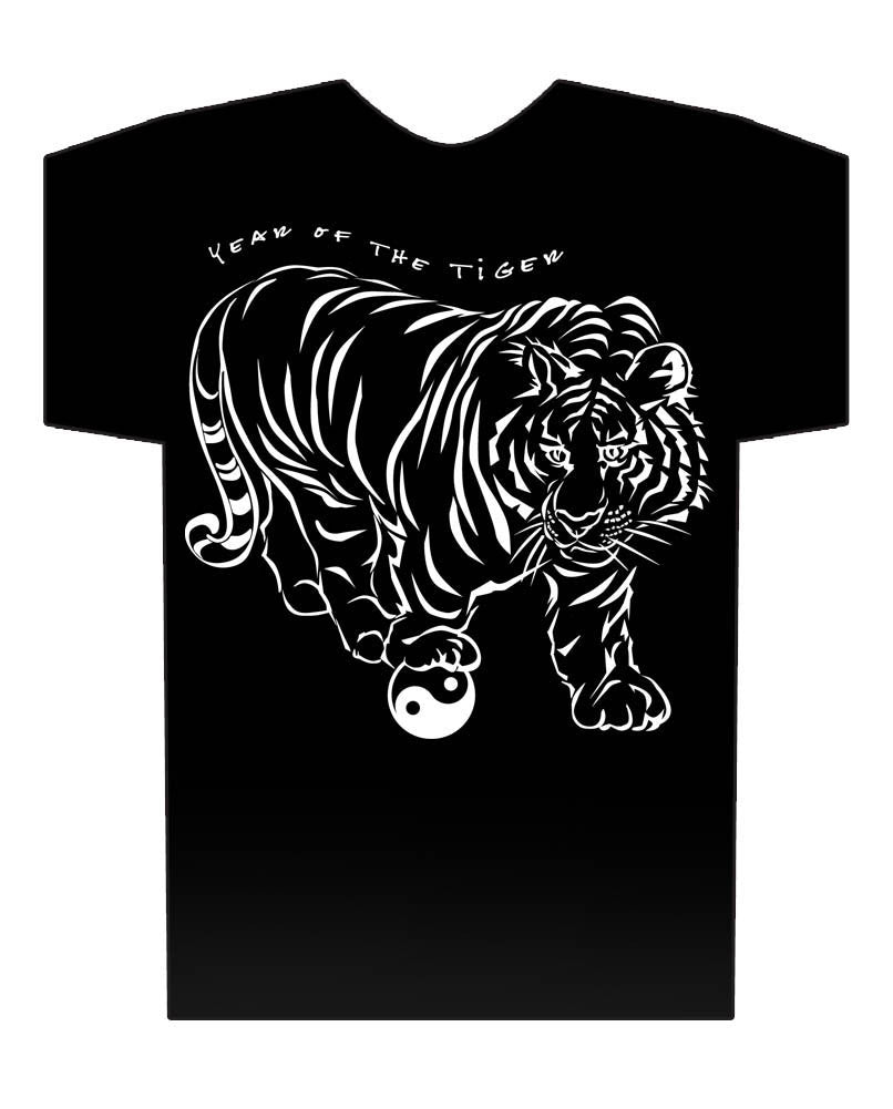 Year of the Tiger black shirt Hi-NRG Design Birth Years: 38, 50, 62, 74, 86, 98, 2010