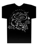 Chinese Year of the Dragon Hi-NRG Design Black t-shirt Birth Years: 1940, 52, 64, 76, 88, 00, 2012