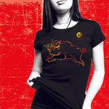 Year of the BOAR (Pig), Neon Black 2 PC. COMBO T-SHIRT & MUG