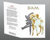 Year of the RAM (Goat) Chinese Oriental Zodiac 6 pc. COMBO GIFT SET