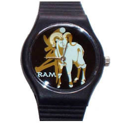 Year of the Ram novelty wrist watch Birth Years: 1931, 43, 55, 67, 79, 91, 03, 2015