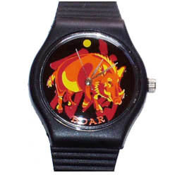 Year of the Boar novelty wrist watch Birth Years 1935, 47, 59, 71, 83, 95, 07, 2019