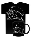 Year of the BOAR (Pig) Black HiNRG 2 PC. COMBO T-SHIRT & MUG