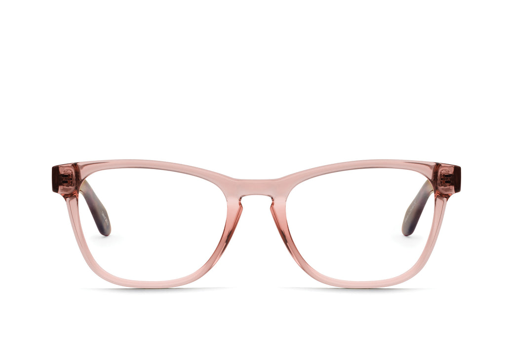 LIGHT BROWN TORTOISE TEMPLE/CLEAR RX