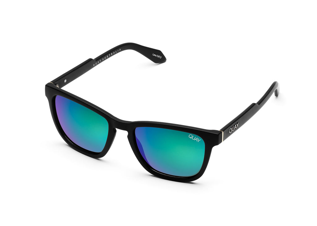 MATTE BLACK / NAVY POLARIZED