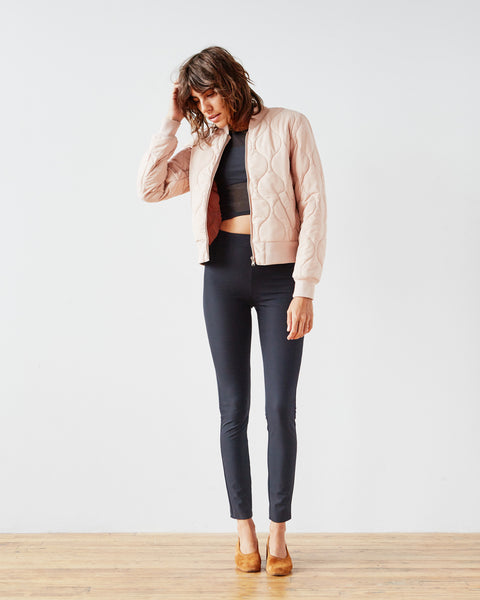 Luxe Bomber - Pink