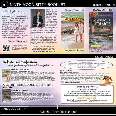 Bitty Booklet (a Ninth Moon exclusive!)