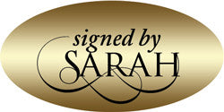 "Autograph Stickers (1.5"" x .75"" Oval) - Custom Design"